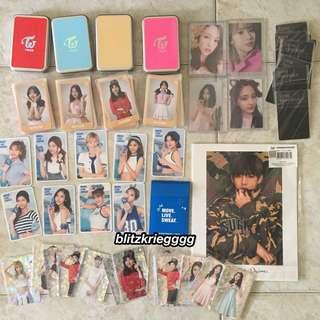 [proof of arrival] Twice, BTS cards