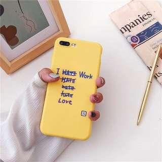 Soft Case handphone Iphone X