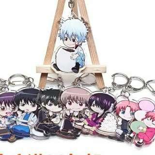 Gintama keychain
