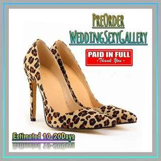 🚚 #[15]🌹⏺🅿🅾⏺🌹Women Pumps Snake Leopard Zebra Pattern Pointed Toe Thin Heels Shoes Woman Platform Shoes Designer Shoes Women Luxury