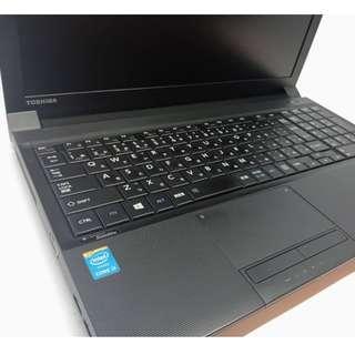 Toshiba Dynabook Satellite B554/M INTEL CORE i3 4TH GEN 500 GB HDD