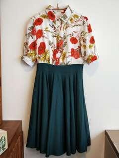 淑女氣質洋裝(九成九新以上未穿過)