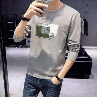 🚚 ✨【👗現貨❤ 經典款👗】🔥韓版男裝英倫風帥氣透氣長袖T恤✨