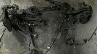 Honda fd lower arm belakang
