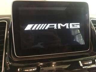 AMG startup logo for Mercedes-Benz A/B/GLA/CLA/C/GLC-Class (2015-2018)