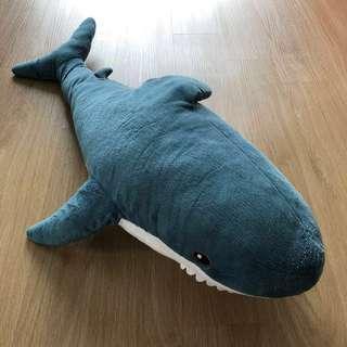 Blue Shark Soft Pillow - Size Big