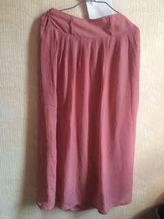 Preloved Chiffon Skirt