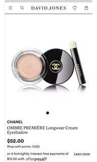 Chanel Premiere Longwear cream eyeshadow #804 Scintillance BRAND NEW