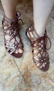 Womens Jelly Shoes Gladiator