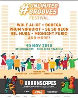 Urbanscapes Unlimited Grooves Festival