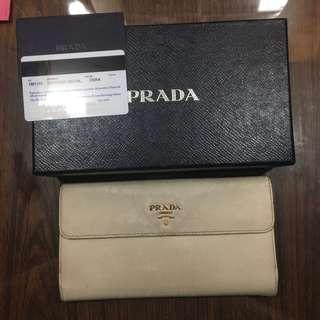 Prada Saffiano Wallet (Authentic 100%)