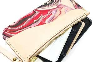 180-Minute Marbled Zip Wristlet Workshop for 1 Person
