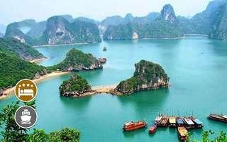 Hanoi: 4D3N Guided Tour + Stay at Hanoi Sky Hotel / Fower Hotel + 3.5* Cruise for 1 Person