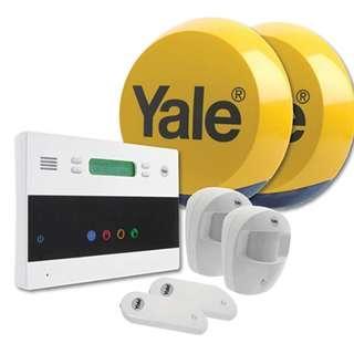 P8 Yale EF-KIT2 Easy Fit Telecommunication Alarm Kit, White, 25.5 x 26.5 x 26.5 cm