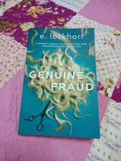 Genuine Fraud by E. Lockhart (English Novel) #SUBANGJAYASWAP #SBUX50 #POST1111