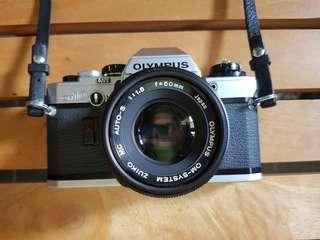 Olympus OM10 with 50mm F1.8 lens