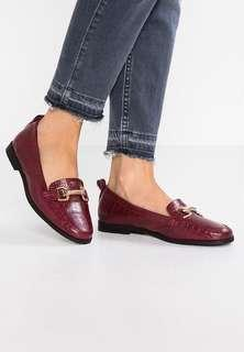 Topshop Lacey Trim Loafers