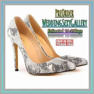 🚚 #[16]🌹⏺🅿🅾⏺🌹Women Pumps Snake Leopard Zebra Pattern Pointed Toe Thin Heels Shoes Woman Platform Shoes Designer Shoes Women Luxury