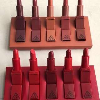 SALE 3CE lipstick