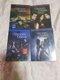 DVD The Vampire Diaries Season 1-4 R1 Brand New Free Season 5