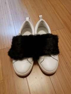 兔毛真皮鞋!🎉🎊