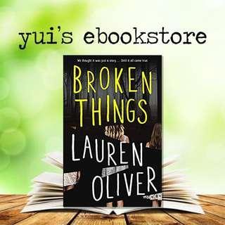 OLIVER - BROKEN THINGS