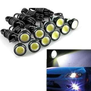 10W 23mm LED Eagle Eye Light Car Auto DRL Daytime Running Strobe Lamp 12V