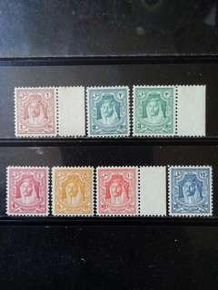 [lapyip1230] 英屬外約旦保護地 1948年 國王像 新票無背貼 MNH