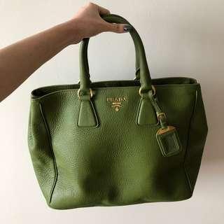 Prada Vitello Daino Leather Tote Bag BN2423