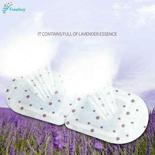 Relax Lavender Steam Eye Cover Warmer Mask Warming Moisturise Warm Tired