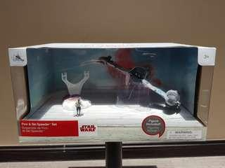 Disney Store Star Wars The Last Jedi Ski Speeder