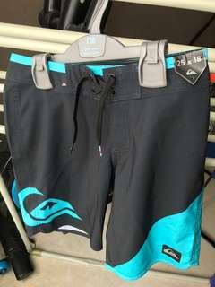 Quicksilver swim trunks 8-12years old