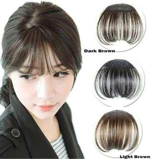 CLIP ON BANGS HAIR EXTENSION