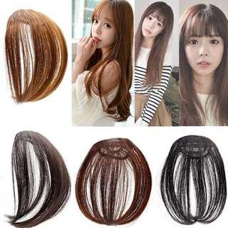 KOREAN STYLE CLIP-ON FRINGE BANGS