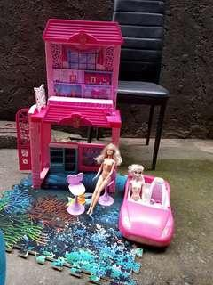 Toys barbie house take all