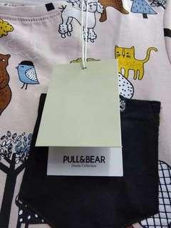 Branded Overruns Pull&Bear 💯 %Cotton Good Quality