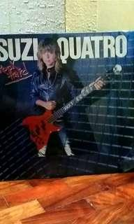 "Suzi Quatro ""Rock Hard"" LP vinyl music record"