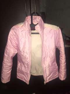 Pink Puffy Wind Jacket