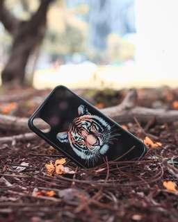 🚚 FREE NM Iphone x black tiger phone cover