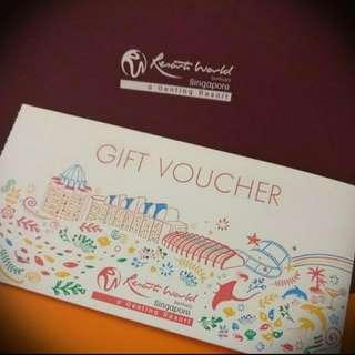 RWS $50 Vouchers (Up To $200)