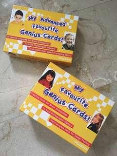 My Favourite Genius Cards!