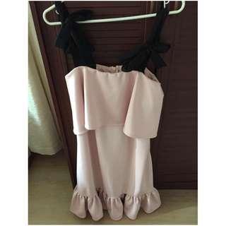 Apartment 8 blush pink dress