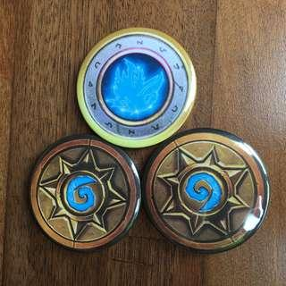 [Clearance] Hearthstone Button Pins