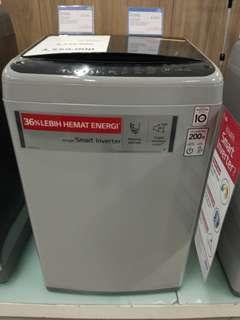 Mesin Cuci LG 8kg Promo Kredit Tanpa DP free 1x Cicilan