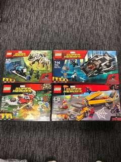 Lego 4 盒$350