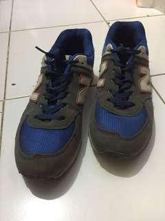 sneakers New balance Second size 42 Blue Non Ori