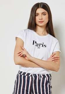 BNWT Cotton On TBar Paris Forever Top