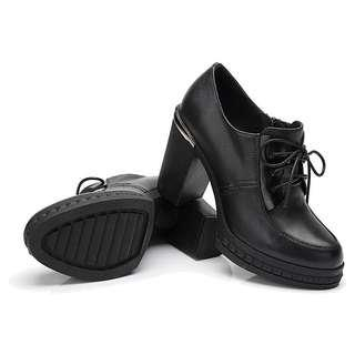 Leather High Heels