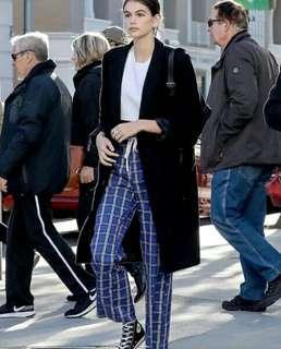 Victoria Check Pants