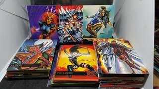 1994 年Marvel XMEN 人物咭 (多張)